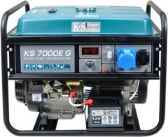 Генератор газобензиновый Konner&Sohnen KS 7000E G