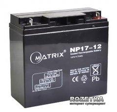 Аккумуляторная батарея Matrix 12V 17Ah (NP17-12)