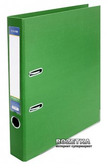 Папка-регистратор Economix LUX А4 50 мм Зеленая (39722*-04)