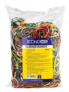 Резинки для денег Economix 1 кг разноцветные (41503)