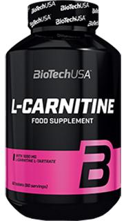 Жиросжигатель Biotech L-Carnitine 1000 мг 60 таблеток (5999076234042)