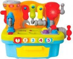 Музыкальный игровой набор Hola Toys Столик с инструментами (907)