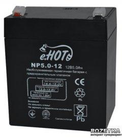 Аккумуляторная батарея Enot NP5.0-12 12V 5Ah (EnotNP5.0-12)