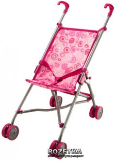 Игровой набор Na-Na IE191 Детская коляска для кукол Розовая (T18-001)