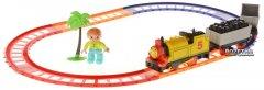 Детская железная дорога Na-Na IE273 со звуком и светом Супер Томас (T21-082)