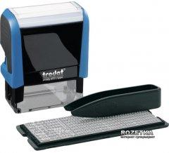 Штамп самонаборный Trodat Printy 4911 38x14 мм 3 строки Лат Синий корпус (4911 P4 Т/3/L)