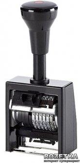 Нумератор автоматический Reiner 5.5 мм 6 символов Черный корпус (В6К/6/5,5 ant)