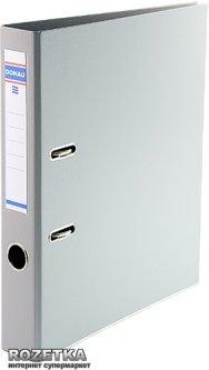Папка-регистратор Donau Premium А4 50 мм Серая (3955001PL-13)
