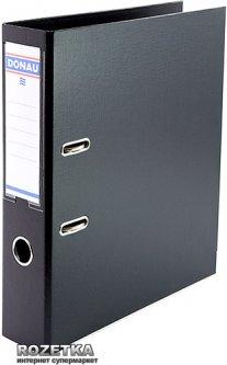 Папка-регистратор Donau Premium А4 70 мм Черная (3975001PL-01)