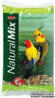 Повседневный корм для средних попугаев Padovan NaturalMix Parrocchetti 850 г (PP00128)