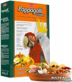 Повседневный корм для крупных попугаев Padovan GrandMix Pappagalli 600 г (PP00186)