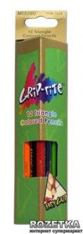 Карандаши цветные Marco Grip-Rite 12 цветов (9100-12CB)