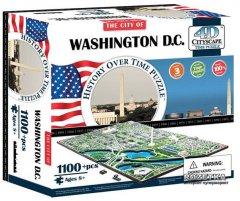 Объемный Пазл 4D Cityscape Вашингтон США 1100 элементов (40018)