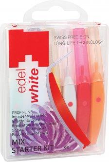 Щётки Edel White Profi-Line для межзубных промежутков Mix 6 шт (7640131973250)