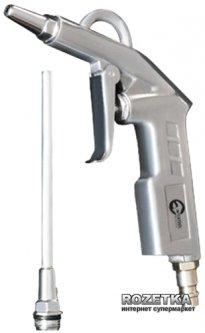 Пистолет продувочный Intertool короткий с наконечником 120 мм (PT-0804)