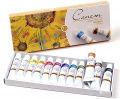 Набор масляных красок Невская палитра Сонет 12 цветов 10 мл (4607010584726)