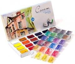 Набор акварельных красок Невская палитра Сонет 24 цвета (4607010587888)
