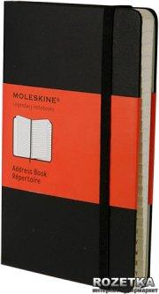 Адресная книга Moleskine Creative 9 х 14 см 192 страницы в линейку Черная (9788883701016)