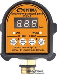 Электронное реле давления с защитой сухого хода Optima EP-1 (8694900301462)