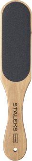 Терка для стоп деревянная Staleks BEAUTY & CARE 10 TYPE 1 100/180 ABC 10/1 (4820121590954)