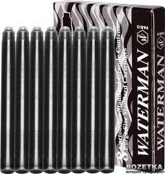 Набор картриджей 8 шт Waterman Черные (52 001)