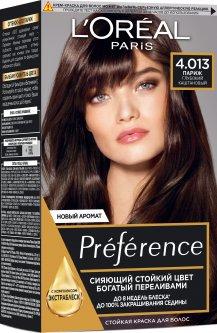 Стойкая гель-краска для волос L'Oreal Paris Recital Preference 4.01 - Париж 174 мл (3600521916704)