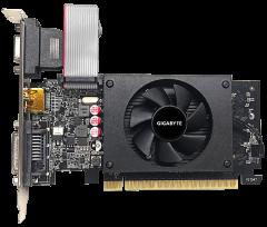 Gigabyte PCI-Ex GeForce GT 710 2048MB GDDR5 (64bit) (954/5010) (DVI, HDMI, VGA) (GV-N710D5-2GIL)