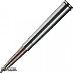 Ручка шариковая Fisher Space Pen Bullet cal.375 Черная 0.7 мм Серебристый корпус (747609790061)