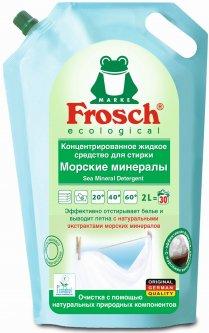 Концентрированное жидкое средство для стирки Frosch Морские минералы 2 л (4009175927583)