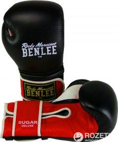 Боксерские перчатки Benlee Sugar Deluxe 194022/1503 14 Черно-красные (194022 (blk/red) 14oz)