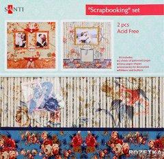 Набор для творчества Santi Скрапбукинг Влюбленные 30.5х30.5 см (952049) (5009079520490)