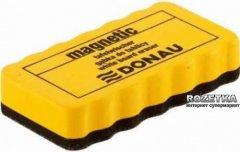 Губка для сухостираемых досок DONAU 110 х 57 х 52 мм 1 шт Желтый (7638001-99)