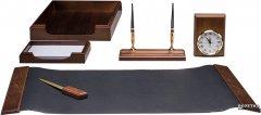 Набор настольный деревянный Bestar 6 предметов Орех (6148XDX)