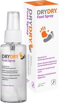 Спрей-дезодорант для ног Dry Dry Foot Spray Драй Драй Фут Спрей 100 мл (7350061291064)