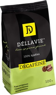 Кофе молотый Dellavie Decafeine 100 г (4820000372497)