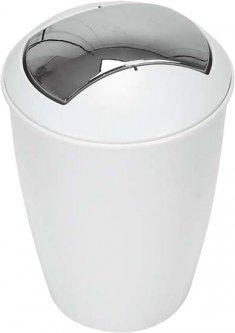 Ведро для мусора Spirella Atlanta 30x19 см Белое (10.04264)