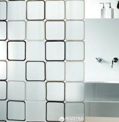 Шторка для ванной Spirella Frame 180x200 Peva Черная (10.01942)