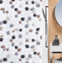 Шторка для ванной Spirella Dido 180x200 Peva Серо-коричневая (10.14429)