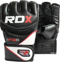 Перчатки MMA RDX Rex Leather L Черные (697_10303)