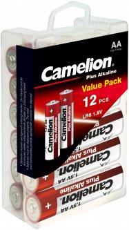 Батарейки Camelion Plus Alkaline AA (LR6) 12 шт (LR6-PBH12)