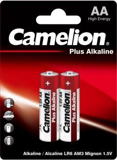 Батарейки Camelion Plus Alkaline AA (LR6) 2 шт (LR6-BP2)