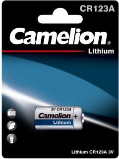 Батарейка Camelion Photo Lithium CR123A 1 шт (CR123A-BP1)