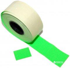 Этикет-лента Aurika 26х16 мм 1000 этикеток прямоугольная 25 шт Green (2616G)