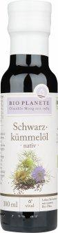 Масло из семян черного тмина Bio Planete неочищенное органическое 100 мл (4260355580930)