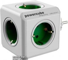 Сетевой разветвитель Allocacoc Powercube На 5 розеток Зеленый (1100GN/DEORP)