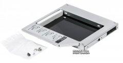 "Карман-адаптер Agestar для HDD 2.5"" для ноутбука в отсек CD-ROM (SSMR2S)"