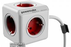 Сетевой удлинитель Allocacoc Powercube Extended с заземлением 5 розеток 3 м (1307/DEEXPC)