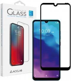 Защитное стекло ACCLAB Full Glue для ZTE Blade A7 2020 Black (1283126508868)