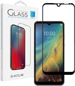 Защитное стекло ACCLAB Full Glue для ZTE Blade A5 2020 Black (1283126508882)