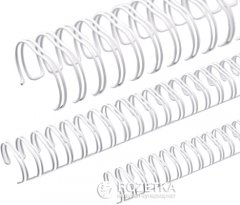 Металлические пружины Agent A4 d 11 мм 3:1 100 шт Белые (8888821195578)